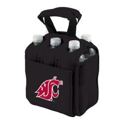 Picnic Time Six Pack Washington State Cougars Black