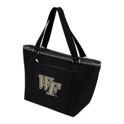 Picnic Time Topanga Wake Forest Demon Deacons Embroidered Black