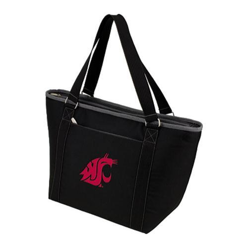 Picnic Time Topanga Washington State Cougars Embroidered Black