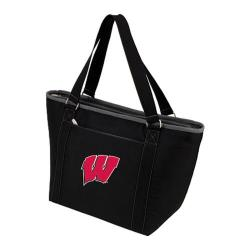 Picnic Time Topanga Wisconsin Badgers Embroidered Black