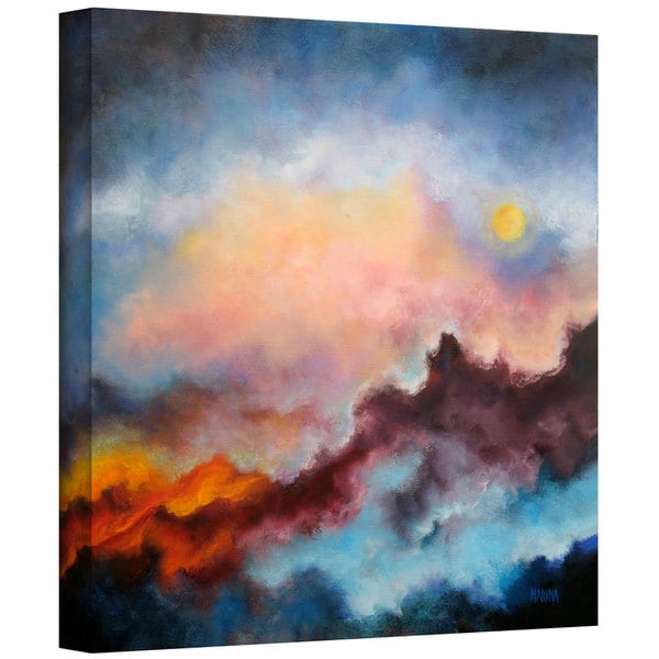 Marina Petro 'Fire on the Mountain' Gallery-Wrapped Canvas