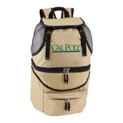 Picnic Time Zuma Cal Poly Mustangs Embroidered Beige