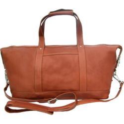 Piel Leather Medium Carry On Satchel 2379 Saddle Leather