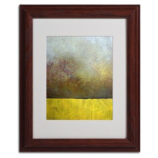 Michelle Calkins 'Earth Study II' Framed Matted Art