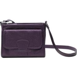 Women's Soapbox Bags Katie Cross Shoulder Purple Croc