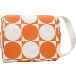 Women's Soapbox Bags Moppet Messenger Bag Orange Circle