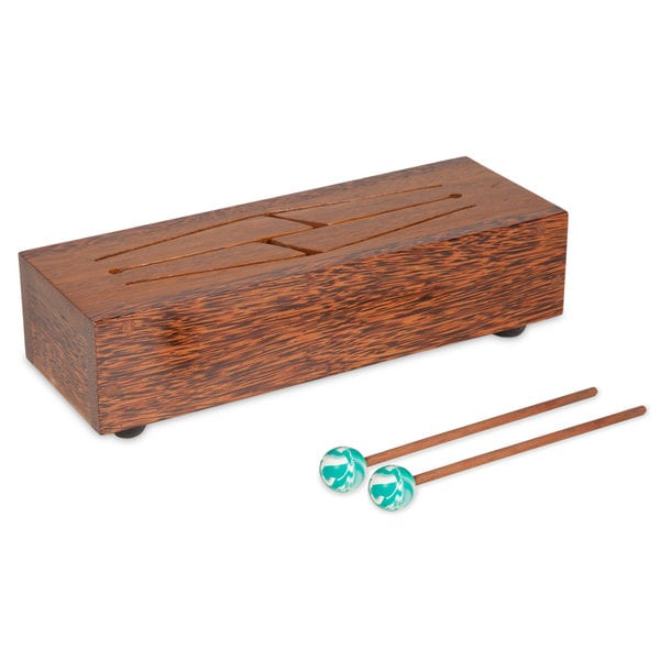 Mahogany Four-Note Tongue Drum (Indonesia)