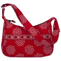 Women's Stephanie Dawn Shoulder Bag 10003 America Red