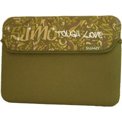 Sumo Graffiti Sleeve- 14.1inPC/15inMac Green