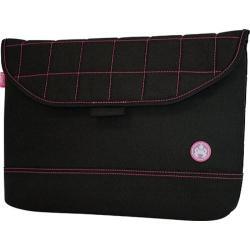 Sumo Nylon Sleeve- 13.3inPC/13inMac Black/Pink
