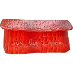 Women's Vecceli Italy CL-103 Red Alligator Embossed Compressed Leather