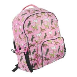 Women's Wildkin Macropak Backpack Horses in Pink