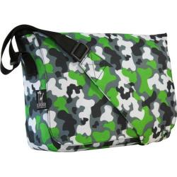 Wildkin Kickstart Messenger Bag Green Camo