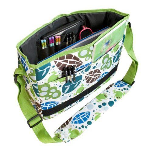 Wildkin Kickstart Messenger Bag Lily Frogs