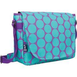 Wildkin Big Dots Aqua 17-inch Laptop Messenger Bag