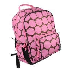 Women's Wildkin Macropak Backpack Big Dots Pink