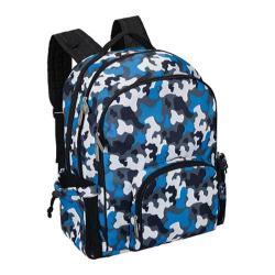 Wildkin Blue Camo Macropak Backpack