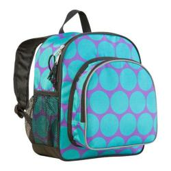 Wildkin Pack 'n Snack Backpack Big Dots Aqua
