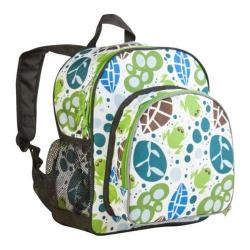 Wildkin Lily Frogs Pack 'n Snack Backpack