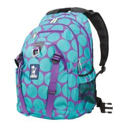 Wildkin Serious Backpack Big Dots Aqua