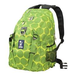 Wildkin Big Dots Green Serious 15-inch Laptop Backpack