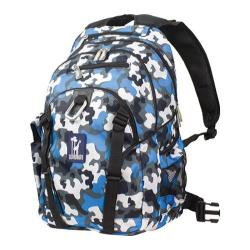 Wildkin Blue Camo Serious 15-inch Laptop Backpack