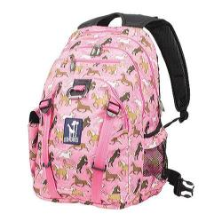 Wildkin Horses in Pink Serious 15-inch Laptop Backpack