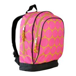 Wildkin Sidekick Backpack Big Dots Hot Pink