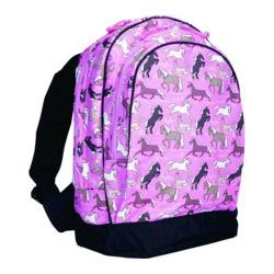 Wildkin Sidekick Backpack Horses in Pink