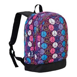 Wildkin Sidekick Backpack Peace Signs Purple