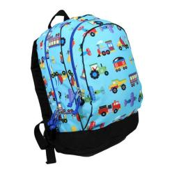 Wildkin Sidekick Backpack Trains, Planes and Trucks