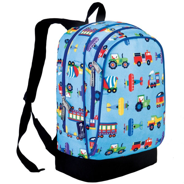 Wildkin Trains, Planes and Trucks Sidekick Backpack