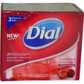 Dial Cranberry AntiOxidant Glycerin Soap (Pack of 3)