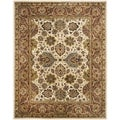 Safavieh Handmade Persian Legend Ivory/ Rust Wool Rug (8'3 x 11')
