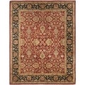 Safavieh Handmade Persian Legend Rust/ Black Wool Rug (9'6 x 13'6)