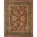 Safavieh Handmade Persian Legend Rust/Navy Wool Area Rug (6' x 9')