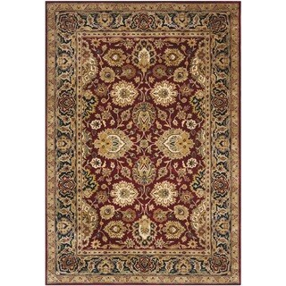 Safavieh Handmade Persian Legend Rust/ Navy Wool Rug (6' x 9')