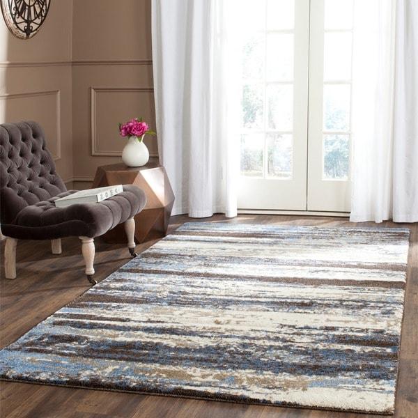 Safavieh retro cream blue rug