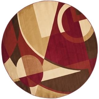 Safavieh Porcello Red Rug (5' Round)