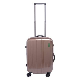 Lojel Superlative Expandable Polycarbonate 22-inch Small Carry-on Upright Spinner Suitcase