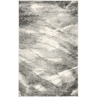 Safavieh Retro Grey/ Ivory Rug (8'9 x 12')