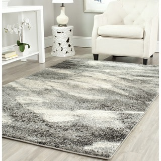 Safavieh Retro Modern Abstract Grey/Ivory Rug (8'9 x 12')