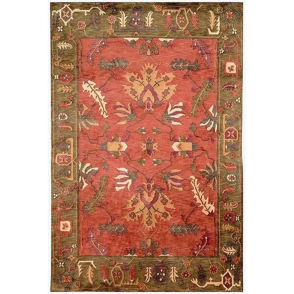 Safavieh Handmade Rodeo Drive Multi-colored Wool Rug (3'6 x 5'6)
