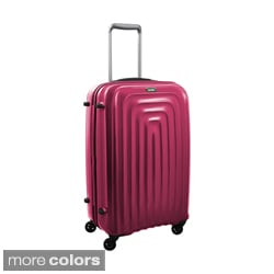 Lojel Wave Polycarbonate 26-inch Medium Upright Spinner Suitcase