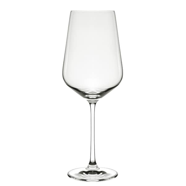 Hong Kong Hip Burgundy Wine Glasses (Set of 6)