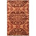 Safavieh Handmade Wyndham Cinnamon Wool Rug (2' x 3')