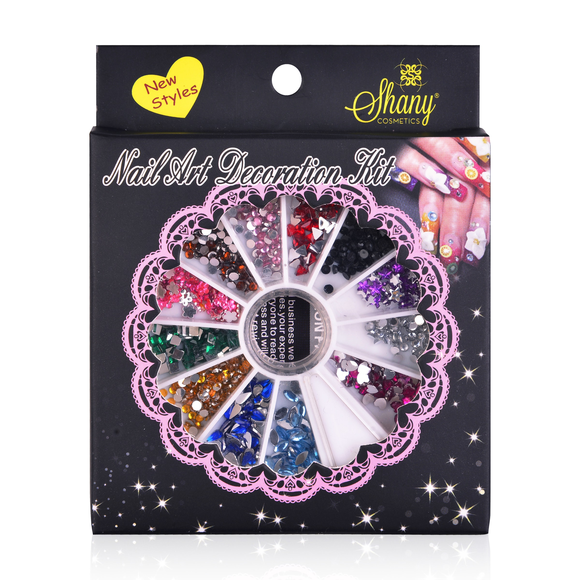 SHANY Cosmetics Shany Set 3 Nail Art Tip Decoration at Sears.com