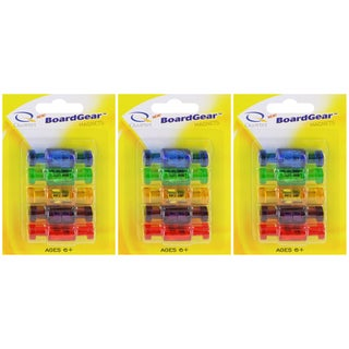 Quartet 30 Pack BoardGear Magnetic Push Pins Multi-Colored