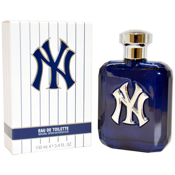 New York Yankees Men's 3.4-ounce Eau de Toilette Spray