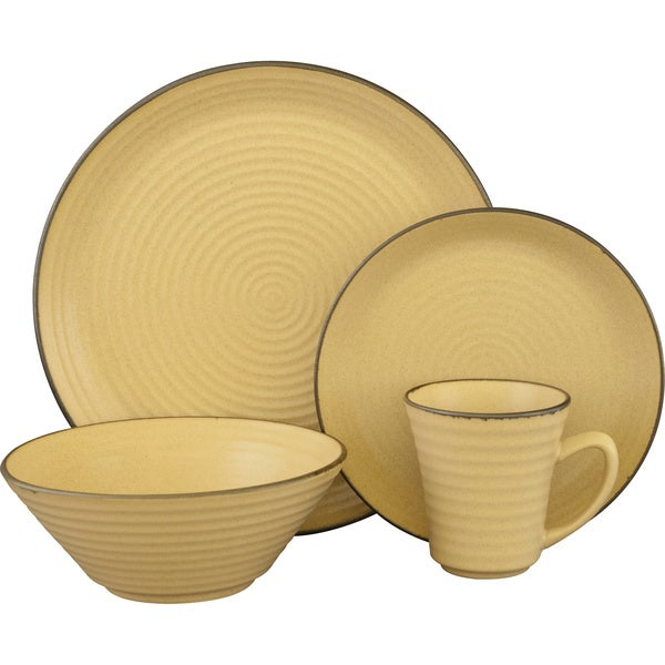 Sango Comet Cream 16-piece Dinnerware Set